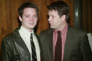 """NEW YORK - JANUARY 10:  Actors Elijah Wood and Sean Astin attend a Film Society of Lincoln Center special screening of """"The Lord Of The Rings"""" Trilogy at Alice Tully Hall, Lincoln Center January 10, 2004 in New York City. (Photo by Evan Agostini/Getty Images)"""
