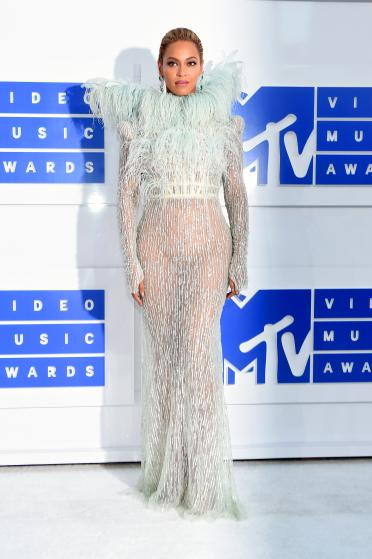 NEW YORK, NY - AUGUST 28:  Beyonce attends the 2016 MTV Video Music Awards at Madison Square Garden on August 28, 2016 in New York City.  (Photo by Larry Busacca/Getty Images for MTV)