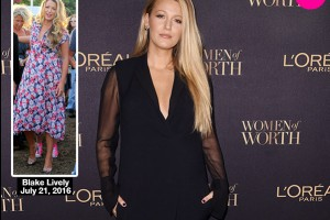 31774d3b15a4 Blake Lively Flaunts Slim Figure In 1st Public Appearance Just 2 Months  After Giving Birth