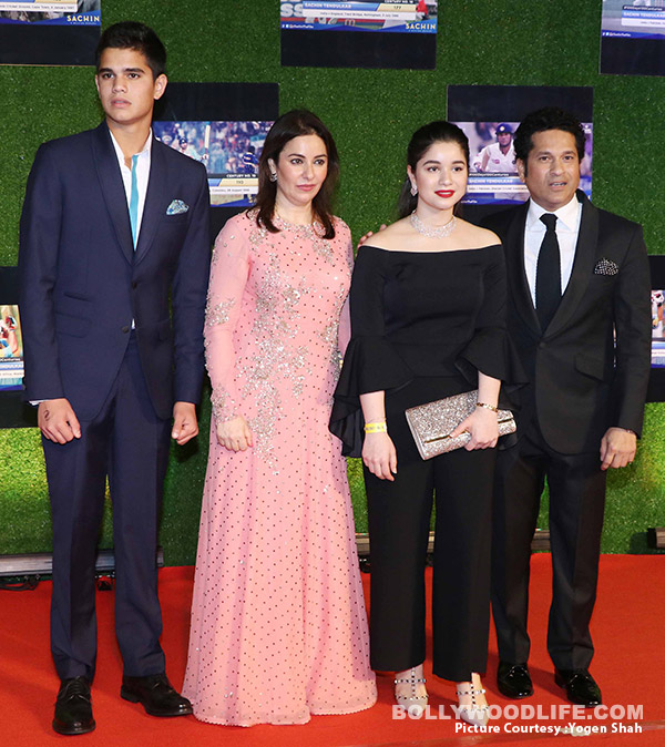 Sachin-Tendulkar-And-Family
