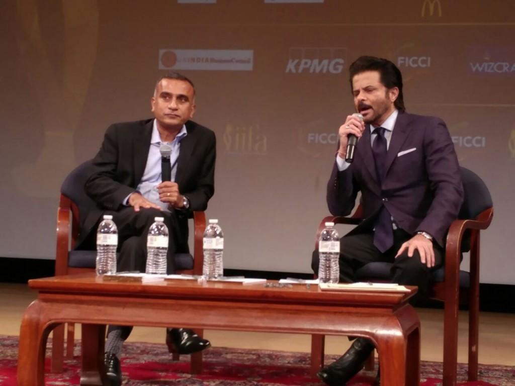 Anil Kapoor at FICCI-IIFA Global Business Forum 2017