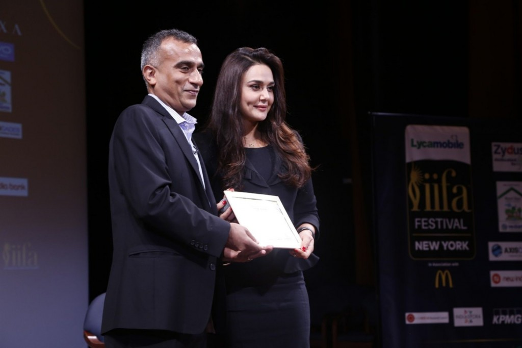 Preity Zinta at FICCI-IIFA Global Business Forum 2017.