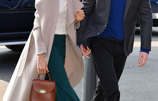 1416f6db7d Meghan Markle's $825 Velvet Shoes In Ireland Have The Internet Freaking Out