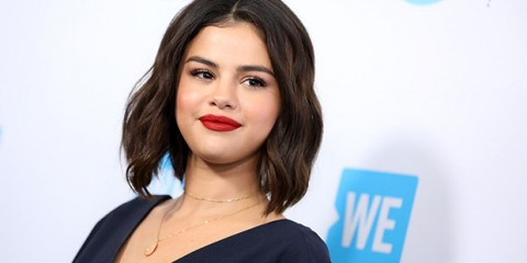 Mandatory Credit: Photo by Chelsea Lauren/REX/Shutterstock (9637002ba) Selena Gomez WE Day California, Arrivals, Los Angeles, USA - 19 Apr 2018