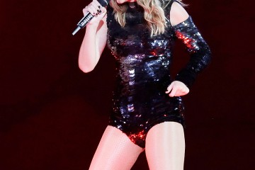Mandatory Credit: Photo by Rick Scuteri/Invision/AP/REX/Shutterstock (9666177k) Taylor Swift performs during the Reputation Stadium Tour opener at University of Phoenix Stadium, in Glendale, Ariz Taylor Swift in Concert - , AZ, Glendale, USA - 08 May 2018