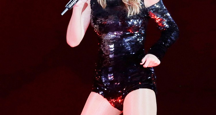 Mandatory Credit: Photo by Rick Scuteri/Invision/AP/REX/Shutterstock (9666177k) Taylor Swift performs during the Reputation Stadium Tour opener at University of Phoenix Stadium, in Glendale, Ariz Taylor Swift in Concert - , AZ, Glendale, USA - 08 May 2018