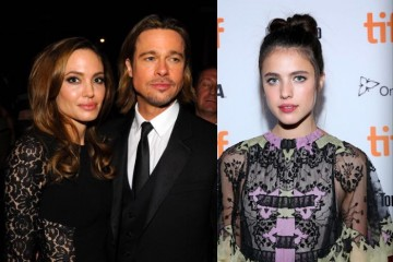 Angelina-Jolie-Brad-Pitt-Margaret-Qualley