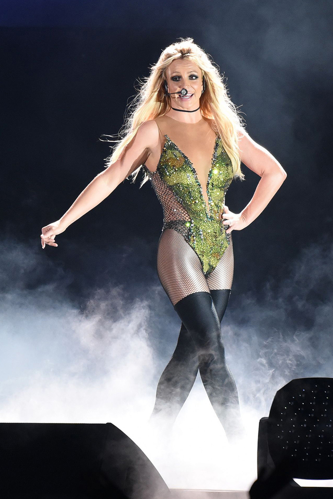 Mandatory Credit: Photo by Top Photo Corporation/REX/Shutterstock (8866778r) Britney Spears Britney Spears in concert, Taipei, Taiwan - 13 Jun 2017