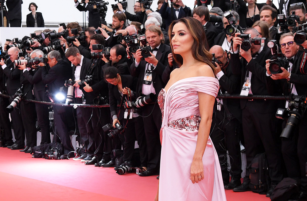Mandatory Credit: Photo by David Fisher/REX/Shutterstock (10236786aj) Eva Longoria 'The Dead Don't Die' premiere and opening ceremony, 72nd Cannes Film Festival, France - 14 May 2019