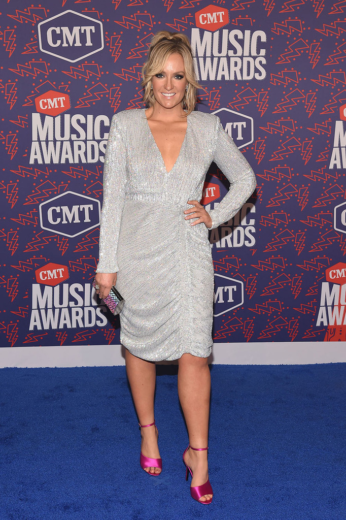 Mandatory Credit: Photo by Andrew H. Walker/Shutterstock (10281493h) Clare Dunn CMT Music Awards, Arrivals, Bridgestone Arena, Nashville, USA - 05 Jun 2019