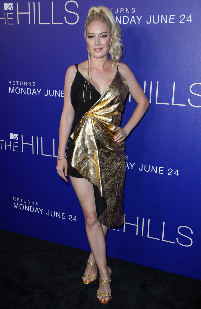 Mandatory Credit: Photo by Matt Baron/Shutterstock (10315685i) Heidi Montag MTV's 'The Hills: New Beginnings' TV Show party, Arrivals, Liaison Restaurant and Lounge, Los Angeles, USA - 19 Jun 2019