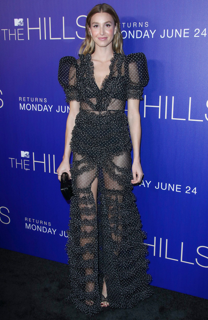 Mandatory Credit: Photo by Matt Baron/Shutterstock (10315685n) Whitney Port MTV's 'The Hills: New Beginnings' TV Show party, Arrivals, Liaison Restaurant and Lounge, Los Angeles, USA - 19 Jun 2019