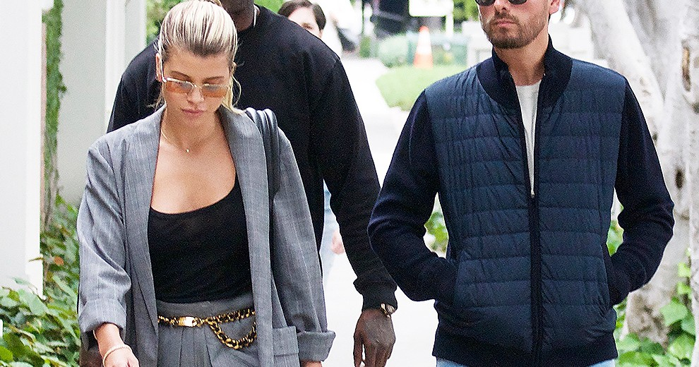 Sofia Richie and Scott Disick out and about in Beverly Hills  Pictured: Sofia Richie,Scott Disick Ref: SPL5090296 160519 NON-EXCLUSIVE Picture by: ENT / SplashNews.com  Splash News and Pictures Los Angeles: 310-821-2666 New York: 212-619-2666 London: 0207 644 7656 Milan: 02 4399 8577 photodesk@splashnews.com  World Rights